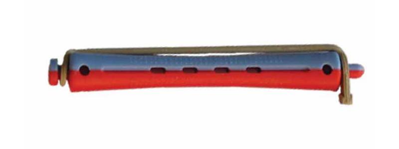 Plastové natáčky na trvalou pr.11mm, 12 ks - červeno-modré (1165) - DUKO