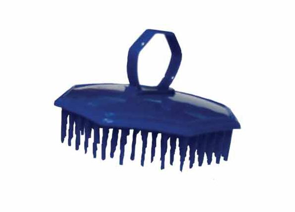 Kartáč na vlasy Groomer 1023 - s očkem, modrý - DUKO