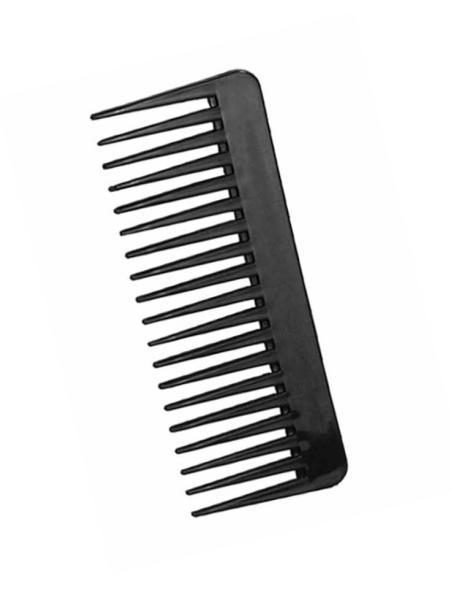 Hřeben na vlasy Duko Collection 1337, 60 x 155 mm - černý