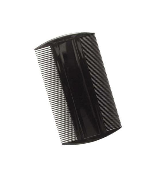 Hřeben prachový/všiváček Duko Collection C-26 - černý