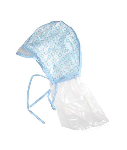 Melírovací čepice s potiskem a ochranou krku - 1 ks (TP-02) - DUKO