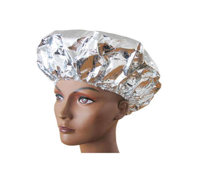 Čepice na trvalou ondulaci pr.35 cm, hliníková - 1 ks, stříbrná (18239) - DUKO