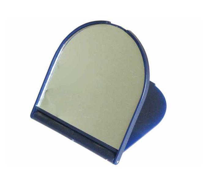 Kosmetické zrcátko Duko 3048 se stojánkem - oválné
