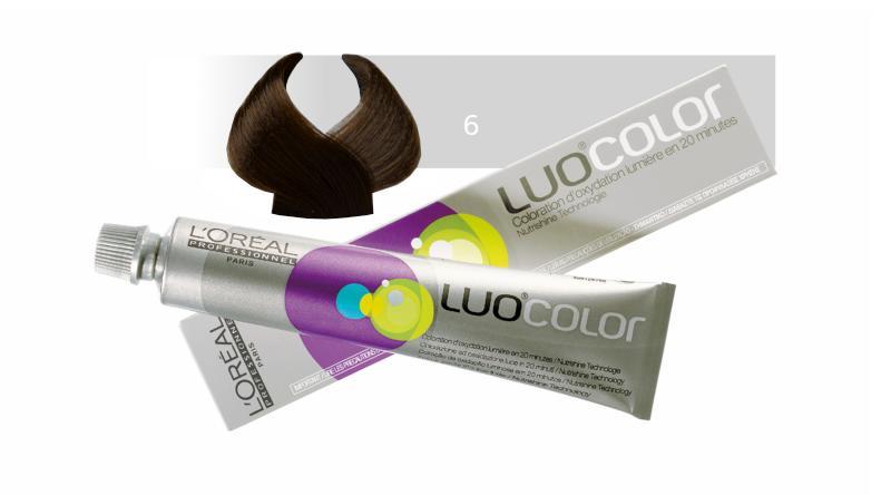 Loréal LUOCOLOR barva na vlasy 50 g - odstín 6, přírodní