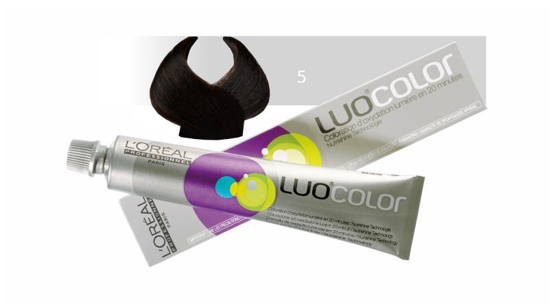 Loréal LUOCOLOR barva na vlasy 50 g - odstín 5, přírodní
