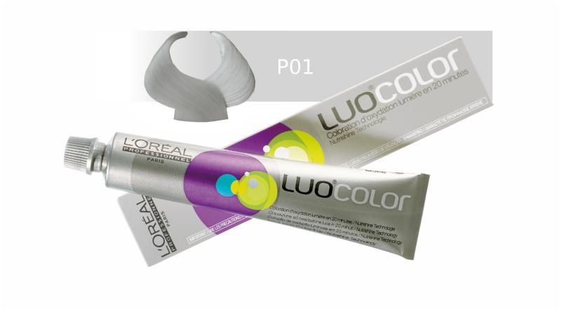 Loréal LUOCOLOR barva na vlasy 50 g - odstín P01, pastelová