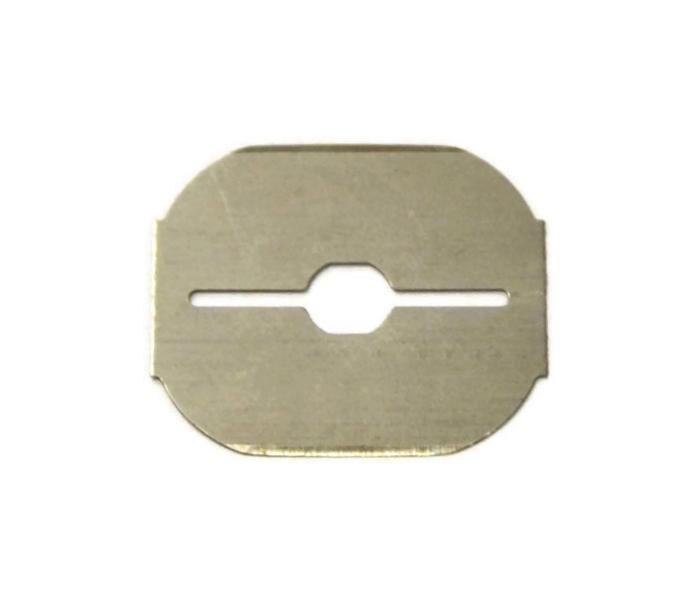 Náhradní břity do hoblíku na paty Duko - 25 mm, 10 ks (FK0218)