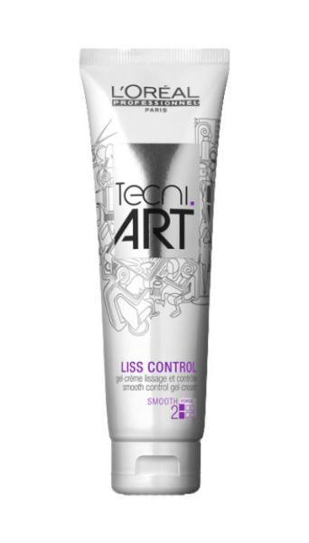 Tecni.Art Liss control Gelový krém pro uhlazení vlasů - 150 ml - Loréal Professionnel