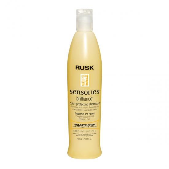 RUSK Sensories Brilliance šampon,barvené vlasy - 400 ml (IRSBRSP13E)