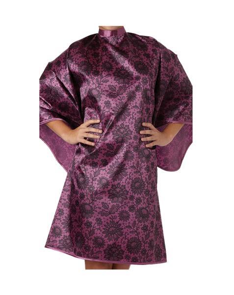 Pláštěnka Olivia Garden Lace na stříhání i barvení - švestka (89119) + DÁREK ZDARMA