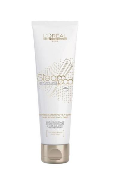 SteamPod Obnovující a vyhlazující krém pro silné vlasy, 150 ml - Loréal Professionnel