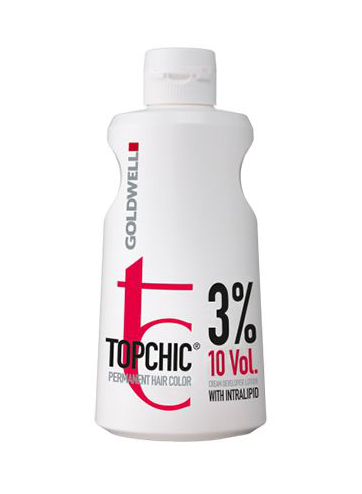 Goldwell Topchic Lotion Oxidační krém 10 VOL 3% - 1000 ml (201243) + DÁREK ZDARMA