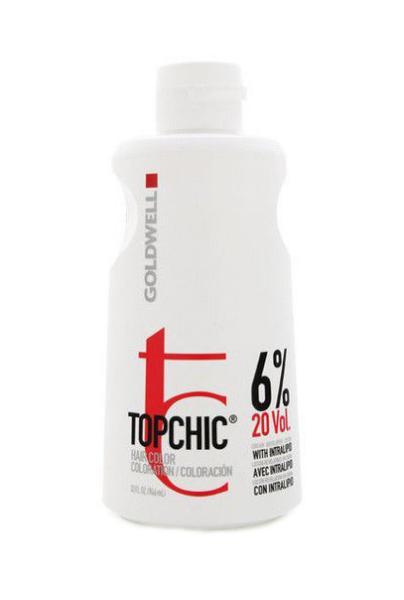 Goldwell Topchic Lotion Oxidační krém 20 VOL 6% - 1000 ml (201244) + DÁREK ZDARMA