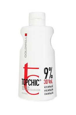 Goldwell Topchic Lotion Oxidační krém 30 VOL 9% - 1000 ml (201247) + DÁREK ZDARMA