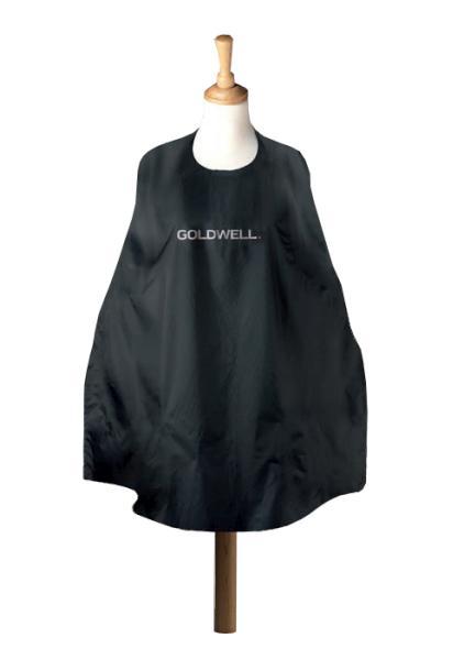 Kadeřnická pláštěnka Goldwell na stříhání - černá (244699) + DÁREK ZDARMA