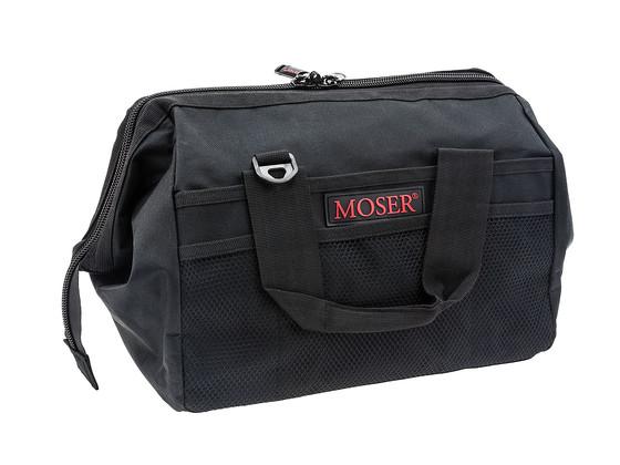 Textilní taška na nářadí a příslušenství Moser - černá (0092-6185) + DÁREK ZDARMA
