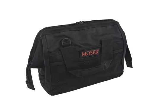 Moser Textilní taška na nářadí a příslušenství - černá (0092-6180) + DÁREK ZDARMA