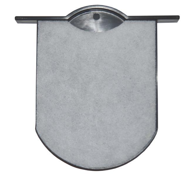 Fox filtr do vakuového vysavače Clean All - vnější plochý (1500223)