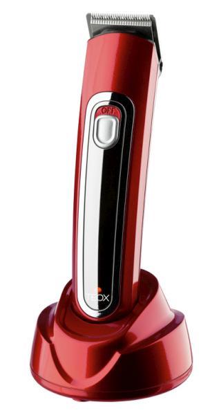 Konturovací strojek Best Buy Teox - akumulátorový, červený (7691007) - Original Best Buy + DÁREK ZDARMA