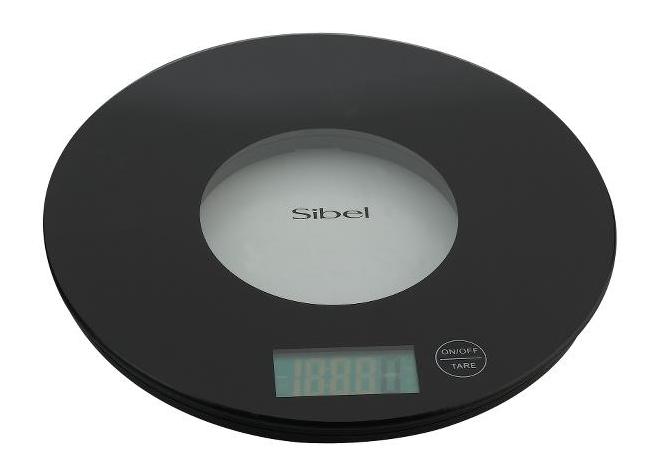 Víceúčelová skleněná váha Sibel Glascaly - max 5000 g (0002002) + DÁREK ZDARMA