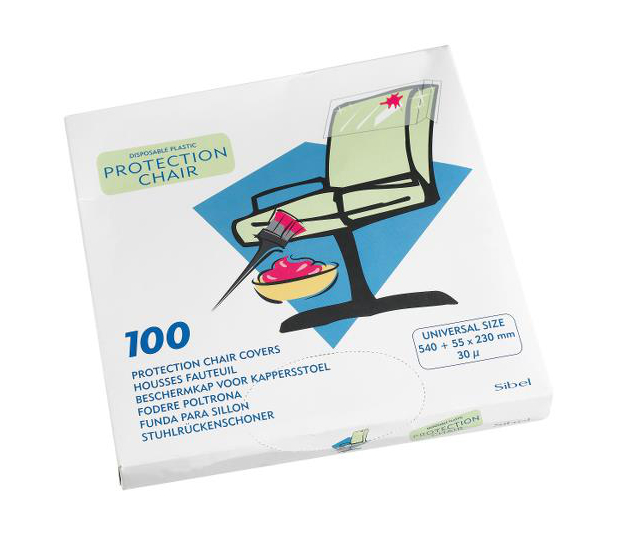 Jednorázová ochrana opěrky křesla Sibel Clean All - 100 ks (5000001) + DÁREK ZDARMA
