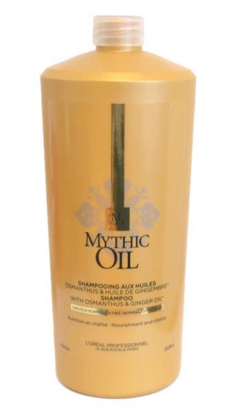 Šampon vyživující normální a silné vlasy Loréal Mythic Oil 1000ml + DÁREK ZDARMA