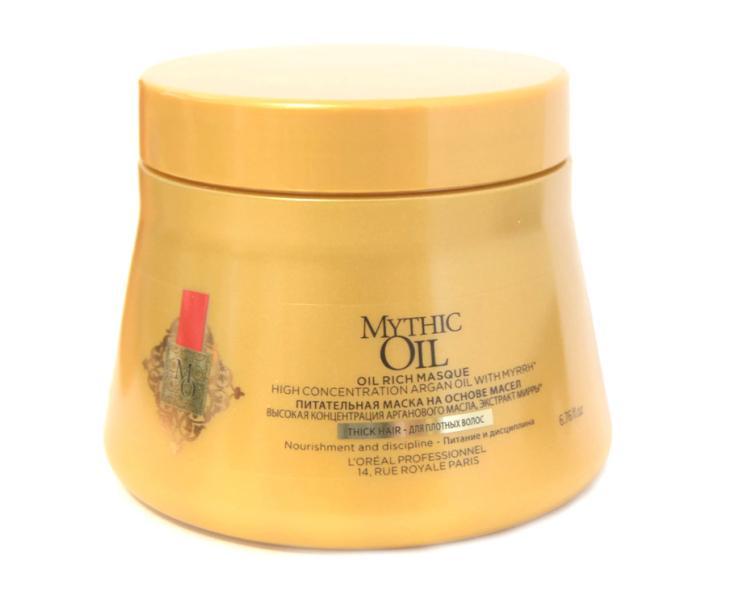 Maska pro pevné, nepoddajné vlasy Loréal Mythic Oil 200 ml + DÁREK ZDARMA