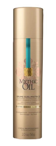 Osvěžující péče ve spreji Loréal Mythic Oil 90 ml