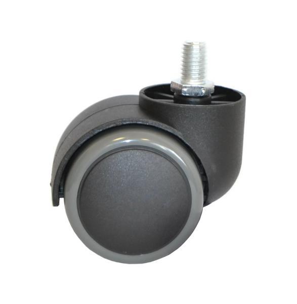 Náhradní kolečko k taburetům a stolkům Weelko - černo šedé (30008 black/grey)