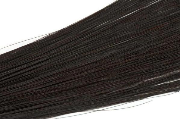 Vlasové pramínky Simply perfect - barva hnědo-černá 4 ks, 50 cm (Highlight 18 (1,5W)) - Human hair + DÁREK ZDARMA