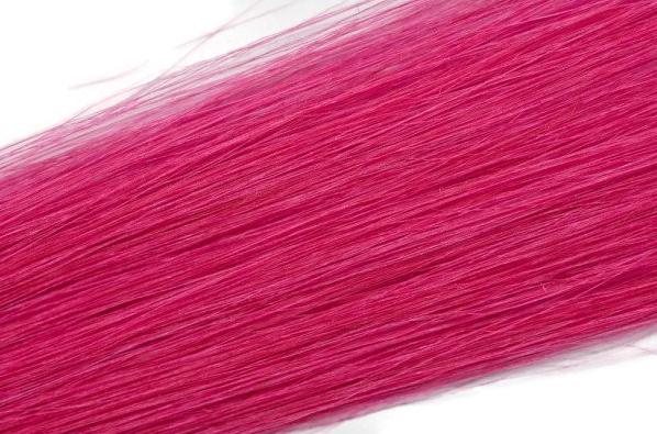 Vlasové pramínky Simply perfect - barva růžová 4 ks, 50 cm (Hightlight 18 PINK) - Human hair + DÁREK ZDARMA