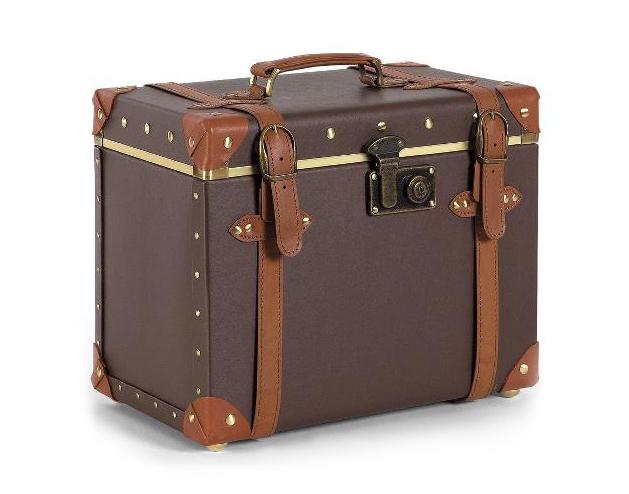 Kadeřnický - kosmetický kufřík Sibel Vintage Grace (0150610) + DÁREK ZDARMA