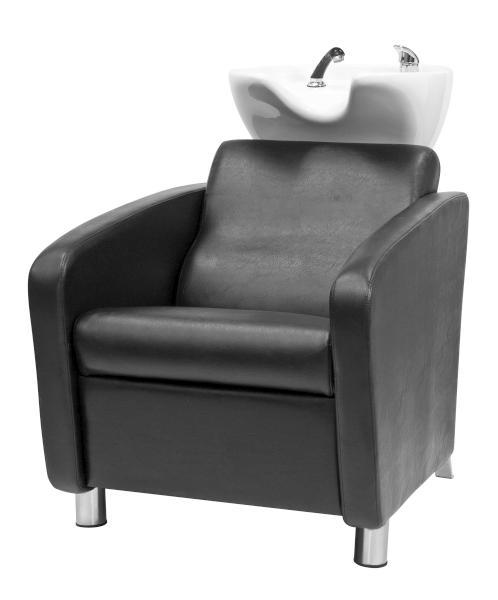 Kadeřnický mycí box Nevada - černý (7512111) - Fox + DÁREK ZDARMA