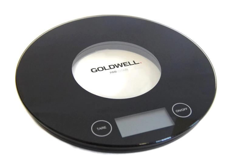Víceúčelová skleněná váha Goldwell ProEdition - max 5200 g (298987) + DÁREK ZDARMA