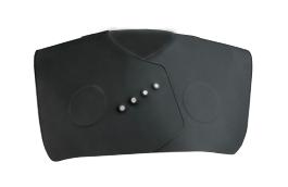 Kadeřnický límec na stříhání Sibel 0254000 - černý + DÁREK ZDARMA
