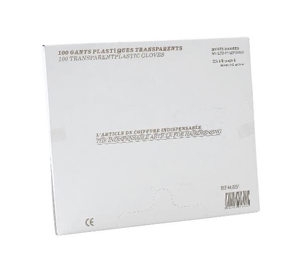 Jednorázové rukavice Sibel z fólie - 100 ks (4410251)