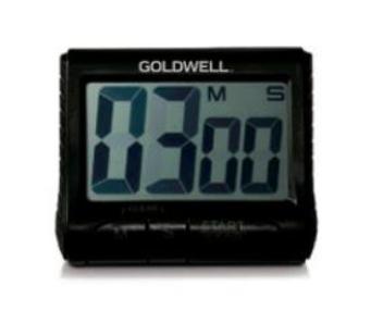 Digitální časovač / minutka Goldwell - černá (244717)