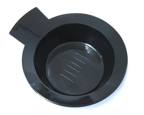 Miska na barvy a přelivy Mila - 300 ml, černá (0068269)