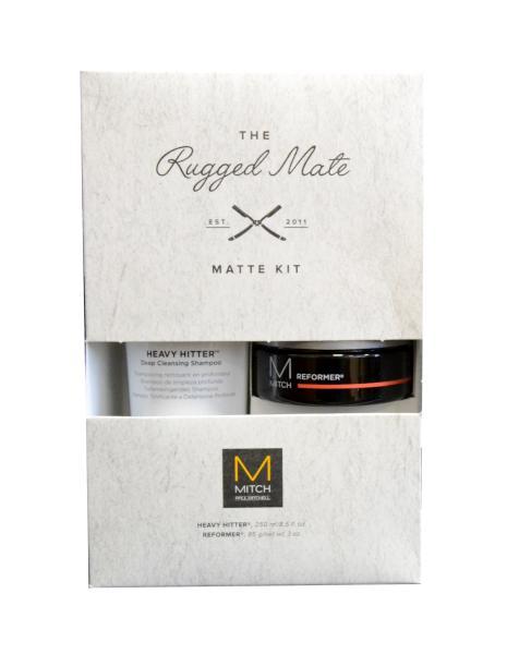 Dárková sada pro fixaci a čistotu vlasů Paul Mitchell - Rugged Mate + DÁREK ZDARMA