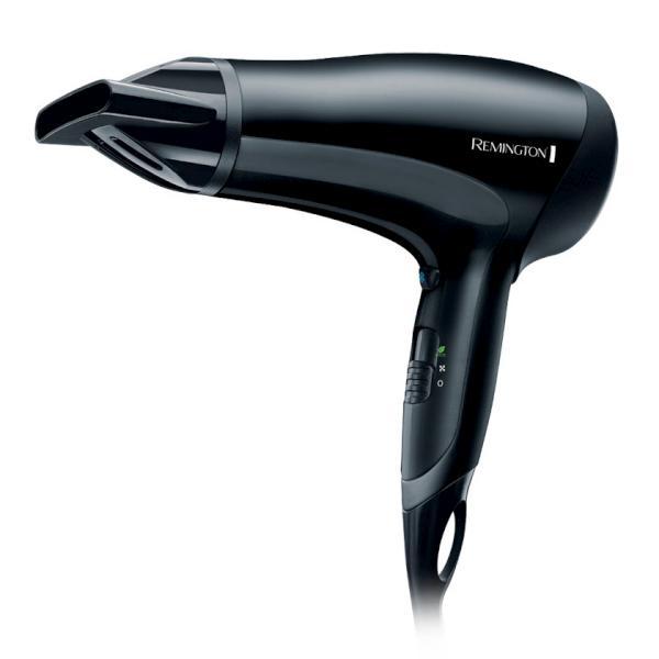 Fén na vlasy Remington Power Dry 2000 Ionic, ekologický - černý (D3010) + DÁREK ZDARMA