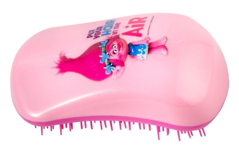 Kartáč na vlasy Dessata Trolls Hair in the Air - růžový (31171) + DÁREK ZDARMA
