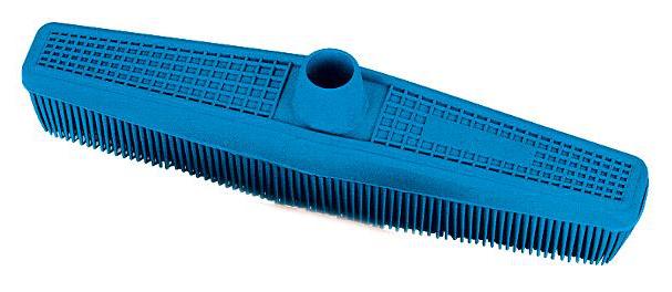 Antistatický smeták Sibel RUBBER BROOM - modrý (845193104)
