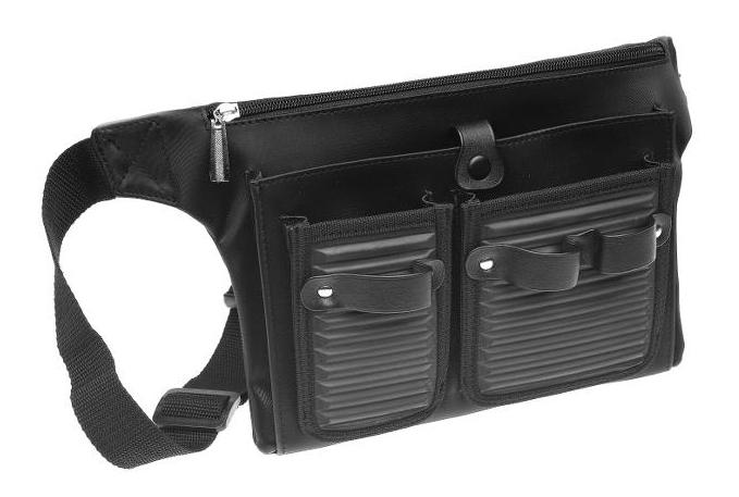 Kadeřnická kapsa na nůžky Sibel Campus Holster - černá (0150171) + DÁREK ZDARMA