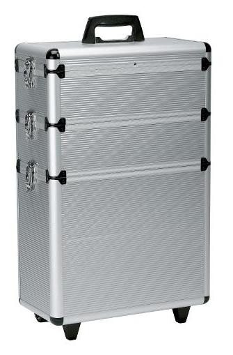 Sekční kufr na kolečkách Best Buy Original Alu - stříbrný (0150731) - Sibel + DÁREK ZDARMA