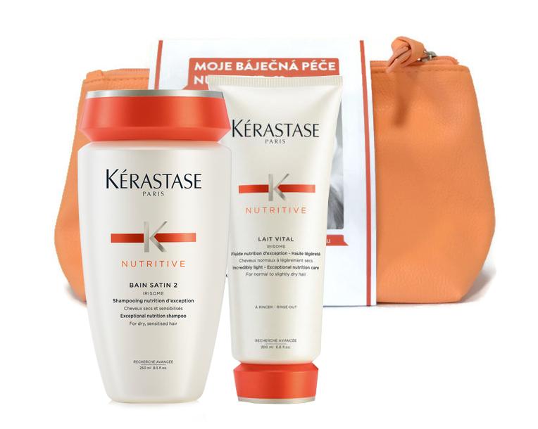 Dárkový balíček Kérastase Nutritive šampon a péče + DÁREK ZDARMA