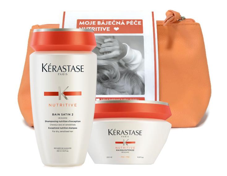 Dárkový balíček Kérastase Nutritive šampon a maska + DÁREK ZDARMA