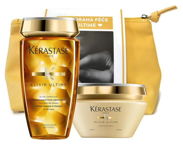 Dárkový balíček Kérastase Elixir Ultime šampon a maska + DÁREK ZDARMA