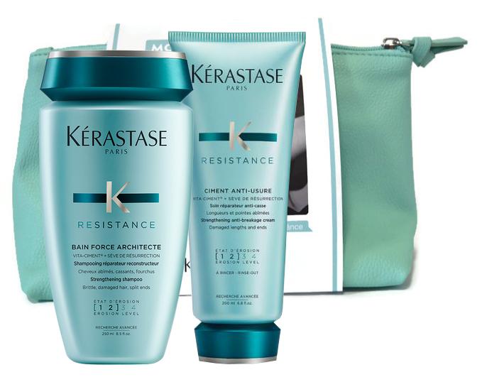 Dárkový balíček Kérastase Resistance šampon a péče + DÁREK ZDARMA