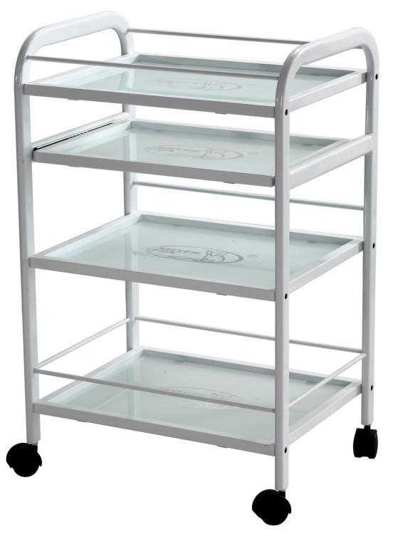 Multifunkční kosmetický stolek SilverFox 1015 - bílý + DÁREK ZDARMA
