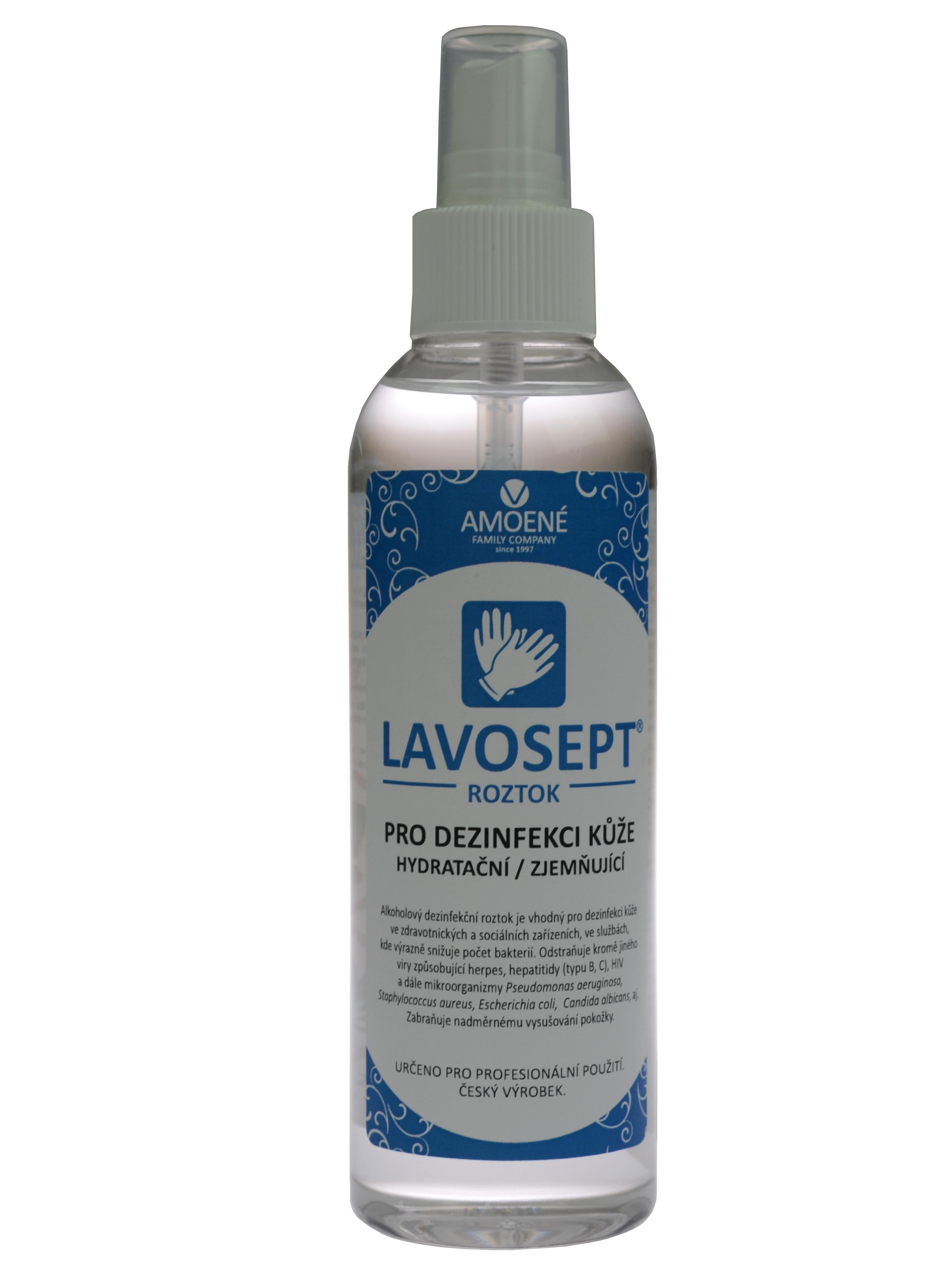 Dezinfekce kůže ve spreji Amoené Lavosept - trnka - 200 ml (0131T2M200)
